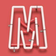 M. @36daysoftype #36daysoftype #36daysoftype_m #m #letter #36days_m #barcelona #goodtype #neon #light #render #fubiz #calligritype #goodtype #handmadefont #fineart #selva #typegang #aigadesign #lettering #plantas #designspiration #thedesigntip #handmadefont #graphicdesign #lettering by manelportomene