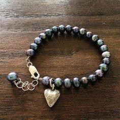 #Repost @designsbyleslie_62  Beautiful fresh water pearls and hilltribesilver heart charm 7 1/4-8 #armcandy #bracelet #freshwaterpearls #pearls#hilltribesilver #beachstyle #beachjewelry #bohochic #bohostyle #bohemianjewelry #tribal #hippiestyle #hippiechic #handmadejewelry #handmadewithlove #yogajewelry #freespirit #wanderlust #festivalfashion #aloha #heartjewelry