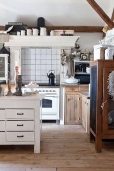 """This pretty kitchen is from our feature """"Magical Moments"""""""
