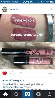 Nuevos labiales liquidos Jordana