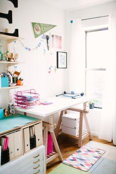 My Brooklyn Craft Studio. Photo by @Brklyn View Photography - Jainé Kershner