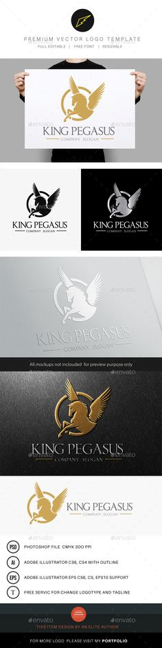 King Pegasus — Photoshop PSD #outdoor #hotel • Available here → https://graphicriver.net/item/king-pegasus/8791122?ref=pxcr