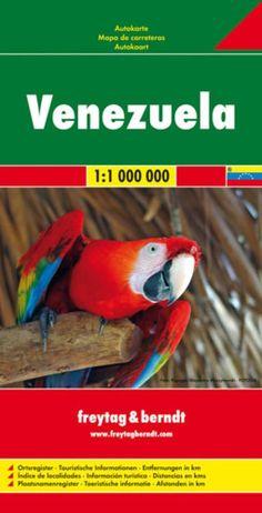 Venezuela by Freytag-Berndt und Artaria