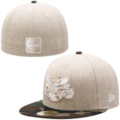 check out c6289 4782c Men s Charlotte Hornets New Era Natural Camo Hardwood Classics Heathered Two-Tone  59FIFTY Fitted Hat, Sale   11.99 - You Save   23.00