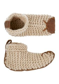 KNITTED HOUSE SHOE by TOAST Absolutely love these slippers!!!
