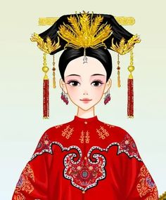 Hatan Chinese Marriage, Hanfu, Cheongsam, Ancient Beauty, Qing Dynasty, Elegant Woman, Butterfly, Cosplay, Asian