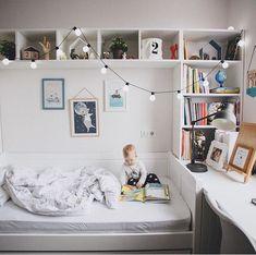 Room, bridge above Kids Bedroom Designs, Kids Room Design, Living Room Designs, Baby Bedroom, Bedroom Decor, Ideas Habitaciones, Wooden Bedroom, Kids Room Art, Little Girl Rooms
