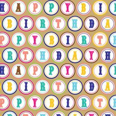 Jillson Roberts 833-Feet X 30-Inch Full Ream Recycled Gift Wrap, Gold Birthday Button (B148B) * See this great product.