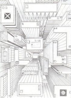 Ciao a tutti! Approfondiamo il tema sullo sfondo studiando i disegni fatti in prospettiva. Iniziamo con il primo disegno. E' una stanza in prospettiva con un solo punto di fuga. Si comincia t… #Drawingtips