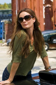 Gabrielle Anwar as Fiona Glenanne. Wish they bring the show back!!!!!