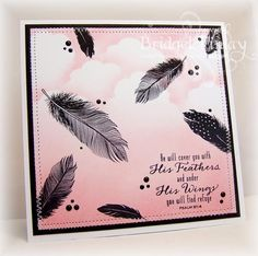 FS344 Fine Feathers by bfinlay - Cards and Paper Crafts at Splitcoaststampers