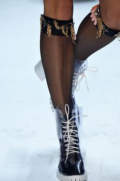 Key Items: Legwear- Over The Knee Socks- Embellishments