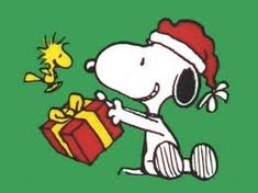 Woodstock and Snoopy Christmas Peanuts Christmas, Christmas Rock, Xmas, Merry Christmas, Christmas Countdown, Christmas Trees, Christmas Ornaments, Charlie Brown Y Snoopy, Charlie Brown Christmas