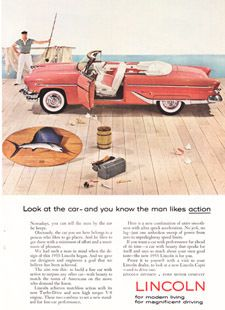 Vintage Ad: 1955 Lincoln
