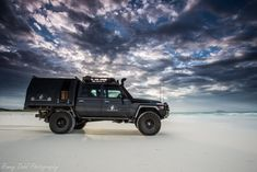The Land Cruiser at Esperance, Western Australia.