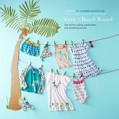 Week 7 of Summer Adventures is here! We'll be pinning everything you need for fun at the beach.: