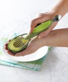 Take a look at this Green Avocado Slicer by Trudeau on #zulily today!  I want one!