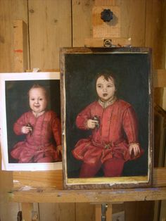 this is my painting in Bronzino Style .