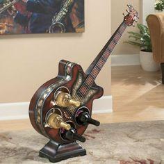 Upcycling Ideen Dekoideen Deko Wohnzimmer DIY Kreativ Gitarre Griff Garderobe