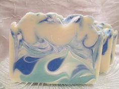 High Tide Handmade Cold Process Soap by GlowBodyandSoul on Etsy, $5.25