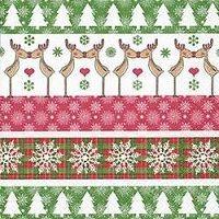 2370 Servilleta decorada Navidad