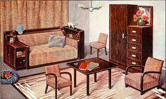 The 1930s-1935 Le chasseur français-lounge furniture by april-mo, via Flickr