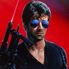 Crime is a disease ...an I am the Cure Slyvester Stallone  in Cobra a big dumb cure.