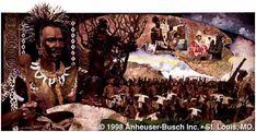 Grandes reis e rainhas de Africa - MOSHOESHOE - Rei de Basutoland - (1518-1568)