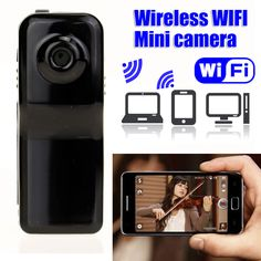 Wireless WiFi Mini Camera HD IP Motion Camcorder spy Espia Micro VCR Hidden Security Action Video Portable Cam