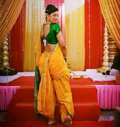 Marathi Saree, Marathi Bride, Sexy Blouse, Blouse Dress, Beautiful Girl Image, Beautiful Asian Girls, Kashta Saree, Lehenga, Nauvari Saree