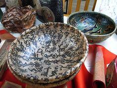 奈良一閑張 Japanese Paper, Serving Bowls, Pots, Baskets, Paper Crafts, Tableware, Design, Kitchens, Dinnerware