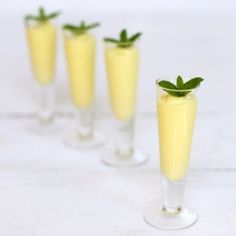 Mango Rum Smoothie...perfect refresher for a fun caribbean wedding