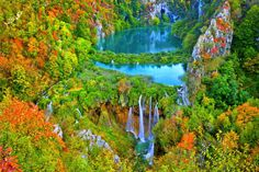 The Plitvice Lakes in Croatia - Part of Maupintour's Other 7 Natural Wonders of the World  http://maupintour.com/7-more-natural-wonders-you-need-to-see/