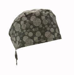 Dark grey with scattered abstract lighter grey circles for the modern guy! #Nurses #Scrubs #Etsy #Hats