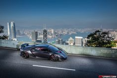 Photo Of The Day ~ Lamborghini Sesto Elemento in Hong Kong ~ by Chester Ng