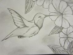 Hummingbird Drawings Hummingbird Sketch by on deviantART Bird Drawings, Pencil Art Drawings, Art Drawings Sketches, Animal Drawings, Easy Drawings, Flower Sketches, Hummingbird Sketch, Painting & Drawing, Watercolor Paintings