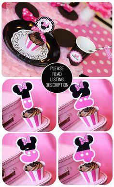 Minnie Mouse Birthday Minnie Mouse Party por AmandasPartiesToGo