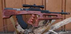 SKS Simonov with custom Bullpup stock by Utah Custom Gun Stocks