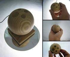Jupiter Wooden Accelerometer mouse