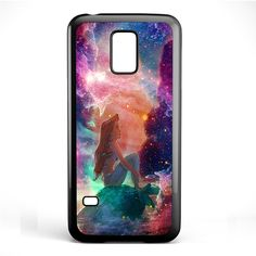 Ariel The Little Mermaid Space Galaxy Phonecase Cover Case For Samsung Galaxy S3 Mini Galaxy S4 Mini Galaxy S5 Mini