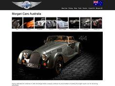 Morgan Cars: Web Design, Web Development