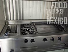 PROYECTO ENTREGAD  Cliente: Talavera Truck Estufa con freidora, 2 hornillas , 2 planchas y baño María.  ventas@foodtrucksdemexico.com