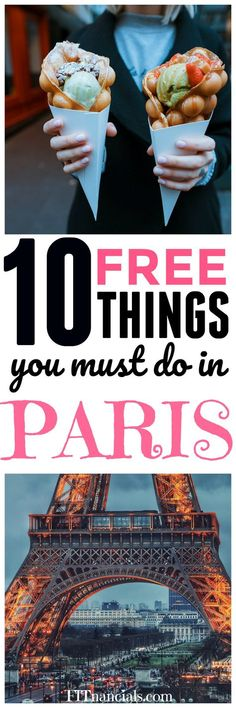 10 Free Things To Do In Paris, France via @fitnancials