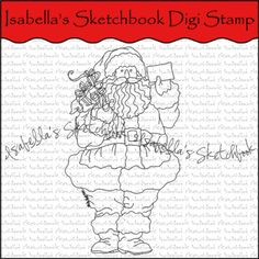 Isabella's Sketchbook Digital Stamp