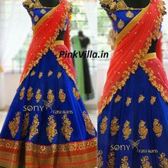 Blue & Red Golden Embroidered Lehenga  Fabric Details :  DUPATTA-60GM GEORGET LEHENGA-60GM GEORGET BLOUSE-BANGLORY SILK WORK : MULTY/SEQUNCE/HAND  Sale Price : 2050 INR Only ! #Booknow  CASH ON DELIVERY Available In India !  World Wide Shipping ! ✈  For orders / enquiry 📲 WhatsApp @ +91-9054562754 Or Inbox Us , Worldwide Shipping ! ✈ #SHOPNOW  #lahengacholi #onlineshopping #bridalwear #glamour #style #quallity #pakistanifashion #designersaree #salwarkameez #patiyalasuit..
