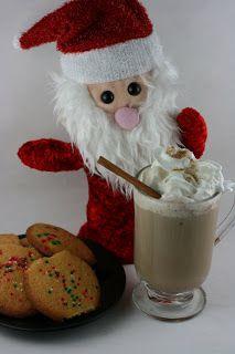 Slow Cooker Gingerbread Latte Recipe: milk, ginger, cinnamon, cloves, vanilla, nutmeg, strong coffee