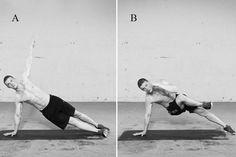 Ganz ohne Hilfsmittel trainieren – mit diesen 17 Übungen für die Funktionskreise Arme/Schultern, Rumpf, Beine und den gesamten Körper. Leser Stephen macht's vor