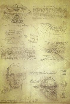 A researcher from the University of Illinois made an interesting discovery in Leonardo Da Vincis sketches.
