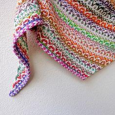 Frieze Shawl pattern by Lisa Hannes