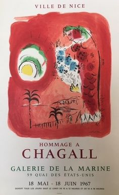 Marc Chagall | Hommage a Chagall - Ville de Nice (1967) | Available for Sale | Artsy